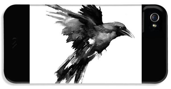 Flying Raven IPhone 5s Case by Suren Nersisyan