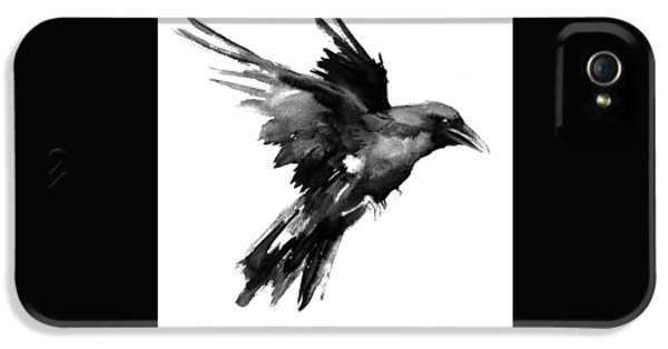 Flying Raven IPhone 5s Case