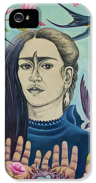 Humming Bird iPhone 5s Case - For Frida by Sheri Howe