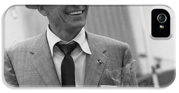 Frank Sinatra - Capitol Records Recording Studio #3 IPhone 5s Case by The Titanic Project
