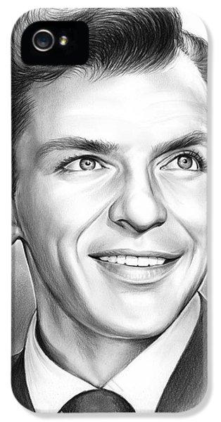 Frank Sinatra IPhone 5s Case by Greg Joens