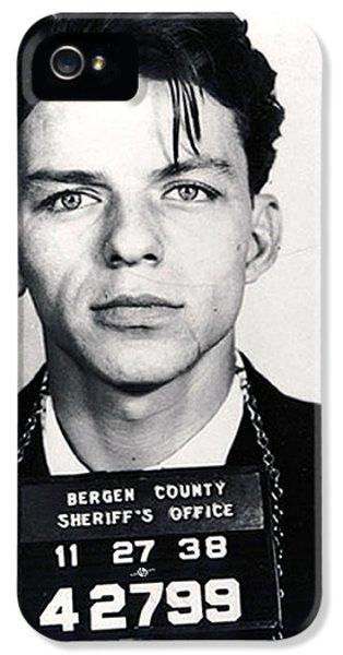 Frank Sinatra Mug Shot Vertical IPhone 5s Case by Tony Rubino