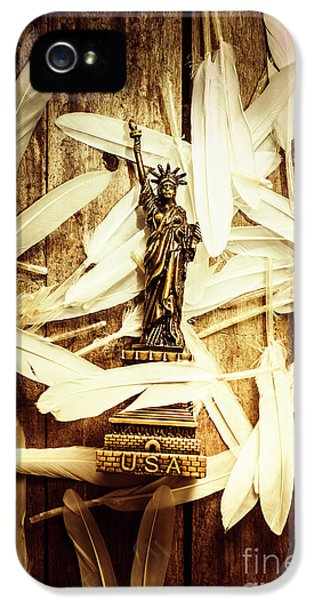 Dove iPhone 5s Case - Freedom And Independence by Jorgo Photography - Wall Art Gallery