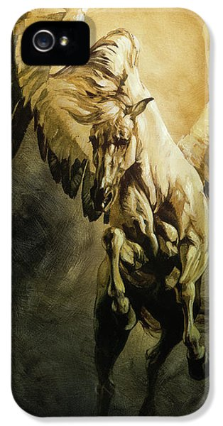 Pegasus iPhone 5s Case - Freedom by Heather Theurer
