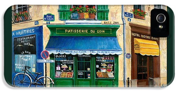 French Pastry Shop IPhone 5s Case by Marilyn Dunlap