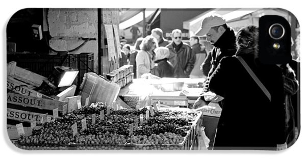 French Street Market IPhone 5s Case by Sebastian Musial