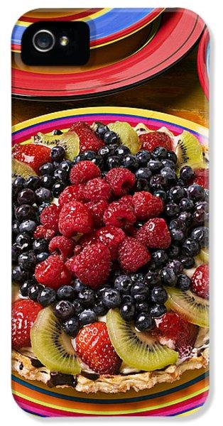 Fruit Tart Pie IPhone 5s Case by Garry Gay