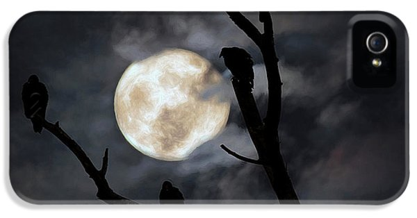 Condor iPhone 5s Case - Full Moon Committee by Darren Fisher