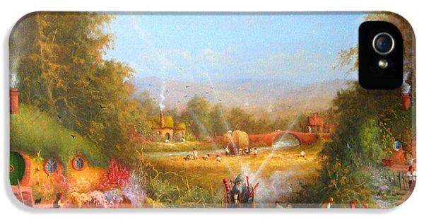 Gandalf's Return Fireworks In The Shire. IPhone 5s Case by Joe  Gilronan