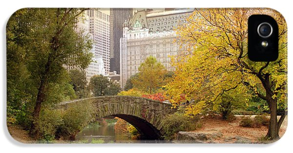 Gapstow Bridge Reflections IPhone 5s Case by Jessica Jenney