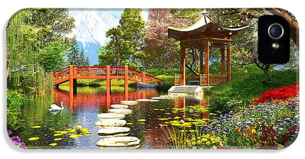 Gardens Of Fuji IPhone 5s Case by Dominic Davison