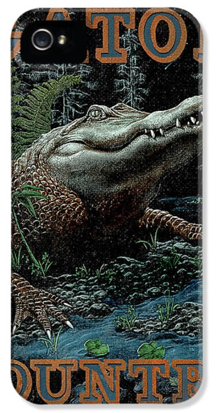 Amphibians iPhone 5s Case - Gator Country by JQ Licensing
