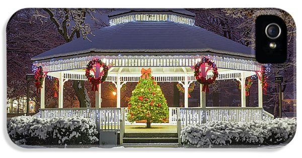 Beaver iPhone 5s Case - Gazebo In Beaver Pa by Emmanuel Panagiotakis