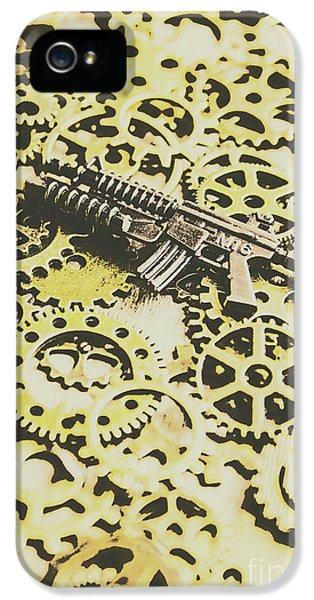 Armed iPhone 5s Case - Gears Of War by Jorgo Photography - Wall Art Gallery