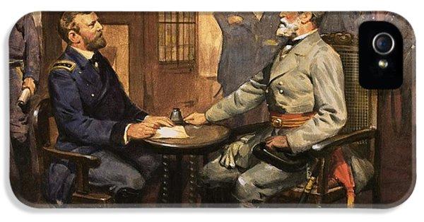 General Grant Meets Robert E Lee  IPhone 5s Case