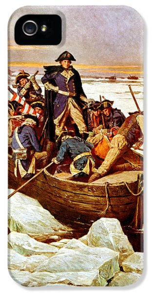 General Washington Crossing The Delaware River IPhone 5s Case
