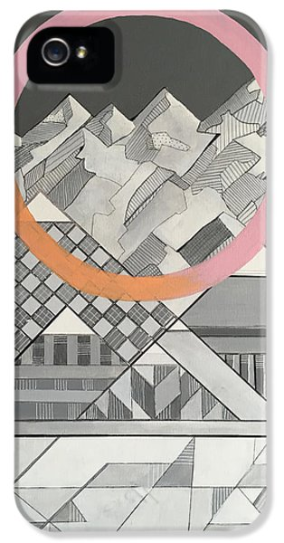 Geometry's Mountain IPhone 5s Case by Sara Cannon