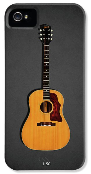 Rock And Roll iPhone 5s Case - Gibson J-50 1967 by Mark Rogan
