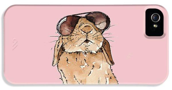Glamorous Rabbit IPhone 5s Case by Katrina Davis