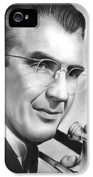 Trombone iPhone 5s Case - Glenn Miller by Greg Joens