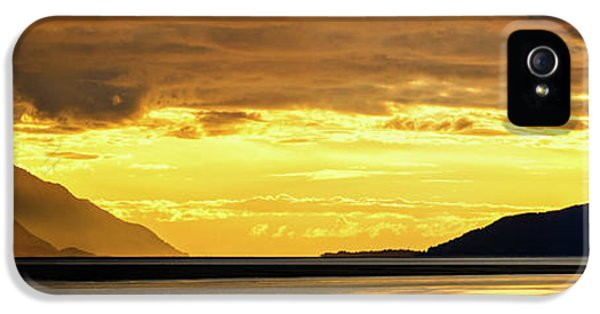 Armed iPhone 5s Case - Golden by Chad Dutson