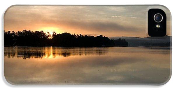 Far North Queensland iPhone 5s Case - Golden Liquid Dawn by Kerryn Madsen-Pietsch