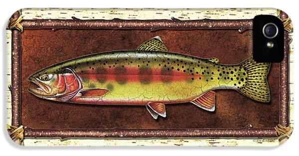 Golden Trout Lodge IPhone 5s Case by JQ Licensing