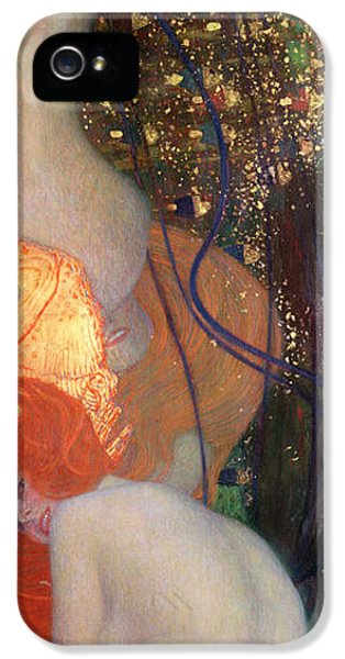 Goldfish iPhone 5s Case - Goldfish by Gustav Klimt