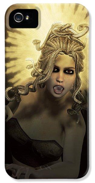Gorgon Medusa IPhone 5s Case by Joaquin Abella
