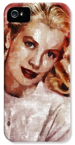 Grace Kelly, Actress And Princess IPhone 5s Case by Mary Bassett