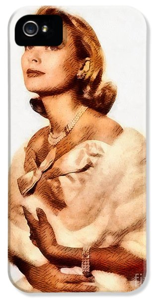 Grace Kelly iPhone 5s Case - Grace Kelly, Vintage Actress By John Springfield by John Springfield