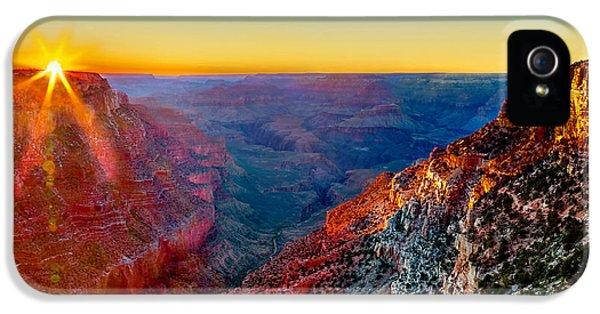 Grand Canyon iPhone 5s Case - Grand Sunset by Az Jackson