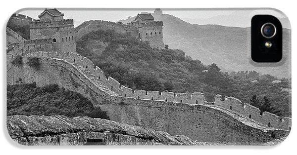 Great Wall 7, Jinshanling, 2016 IPhone 5s Case by Hitendra SINKAR