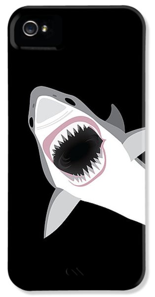 Great White Shark IPhone 5s Case by Antique Images