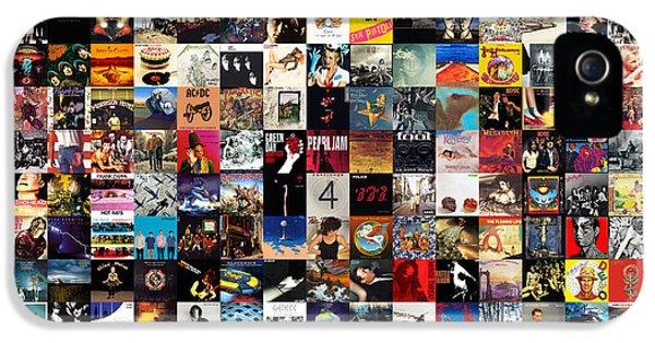 Elvis Presley iPhone 5s Case - Greatest Album Covers Of All Time by Taylan Apukovska