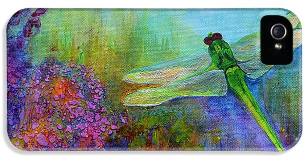 Green Dragonfly IPhone 5s Case