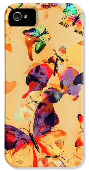 Group Of Butterflies With Colorful Wings IPhone 5s Case