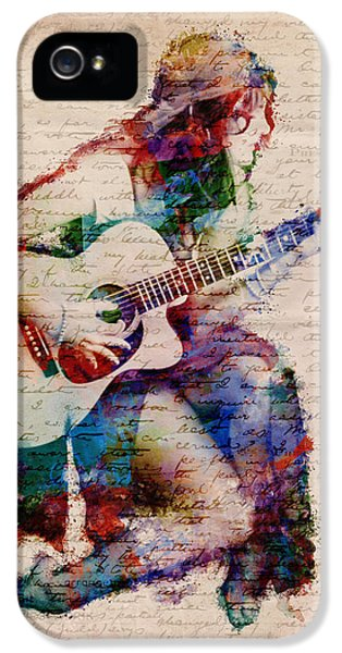 Rock And Roll iPhone 5s Case - Gypsy Serenade by Nikki Smith