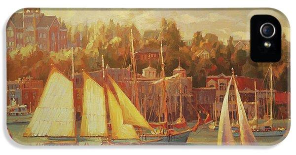 Nostalgia iPhone 5s Case - Harbor Faire by Steve Henderson