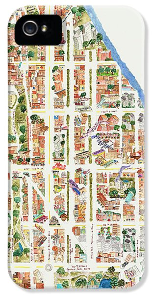 Harlem From 110-155th Streets IPhone 5s Case by Afinelyne