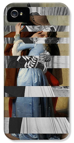 Hayes's The Kiss And Vivien Leigh With Clark Gable IPhone 5s Case by Luigi Tarini