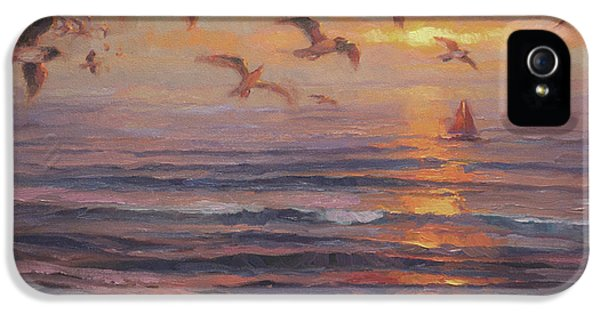 Seagull iPhone 5s Case - Heading Home by Steve Henderson