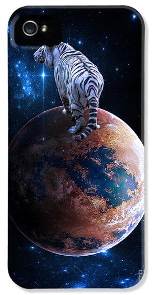 Polar Bear iPhone 5s Case - Heaven Help Us All by Smart Aviation