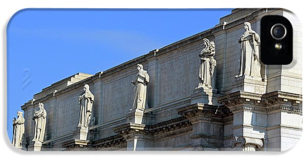Hey Is That Joe Biden One Statue Said To Another At Union Station IPhone 5s Case