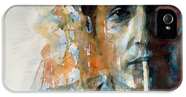 Hey Mr Tambourine Man @ Full Composition IPhone 5s Case by Paul Lovering