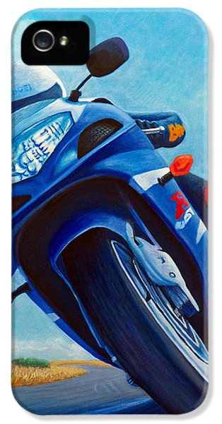 High Desert Pass - Suzuki Gsxr1000 IPhone 5s Case by Brian  Commerford