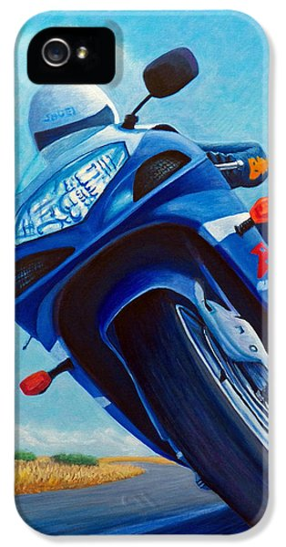 High Desert Pass - Suzuki Gsxr1000 IPhone 5s Case by Brian  Commerford