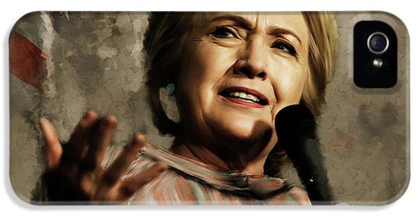 Hillary Clinton iPhone 5s Case - Hillary Clinton 02 by Gull G