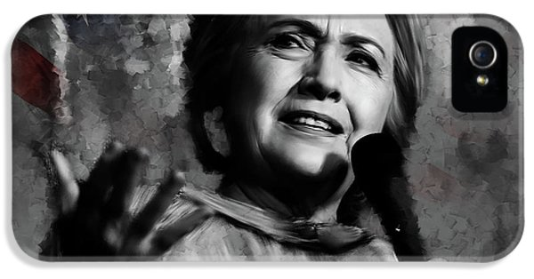 Hillary Clinton  IPhone 5s Case by Gull G