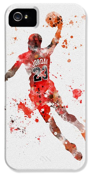 His Airness IPhone 5s Case by Rebecca Jenkins